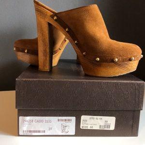 Gucci platform clog mule size 39